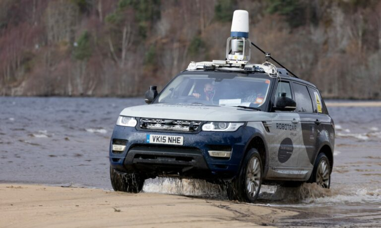 Scotland Driverless Data Car