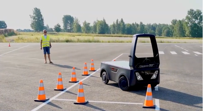 Cleveron Driverless Feature